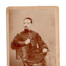 Fotografía antigua - CARTES DE VISITE. MILITAR - SOLDADO - 140903082