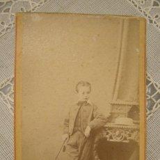 Photographie ancienne: CARTA DE VISITA FOTOGRAFIA ESPAÑOLA DE FRANCISCO ROJO E HIJO DE MALAGA. Lote 141725646