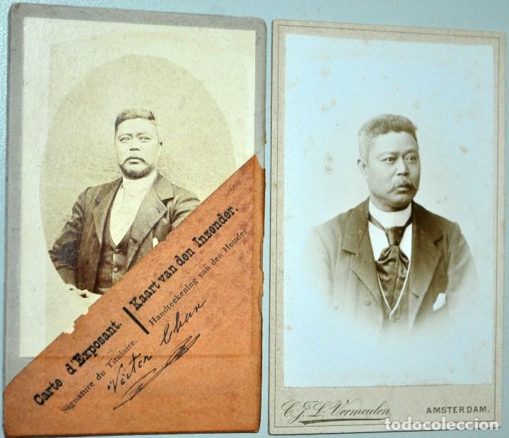 Old Photograph 1895 CARNET DE EXPOSITOR EXPOSICION UNIVERSAL AMSTERDAM FOTOGRAFIA Exposition