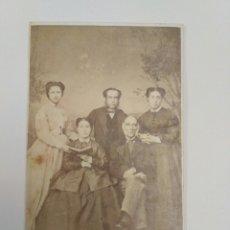 Fotografía antigua: FOTOGRAFÍA, CARTA DE VISITA R. BUCH Y J. RODRIGUEZ. VIGO, GALICIA.. Lote 141959709