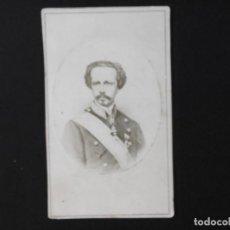 Fotografía antigua: ALBÚMINA DE FRANCISCO DE ASIS REY DE ESPAÑA - CDV. Lote 142017158