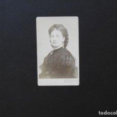 Fotografía antigua: ALBÚMINA DE LA REINA MARIA VICTORIA - CDV. Lote 142020866