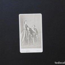 Fotografía antigua: ALBÚMINA DE NAPOLEÓN III CON SU FAMILIA. Lote 142021946