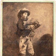 Fotografía antigua: 1870'S FOTOGRAFÍA ANTIGUA ALBUMINA CDV 110X165MM GRAN FORMATO. FOTÓGRAFO A. GARCÍA PERIS (VALENCIA). Lote 142116838