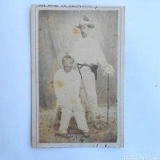 Fotografía antigua: CARTEL DE VISITE CARNAVAL CUBA SOBRE 1878. Lote 143074769
