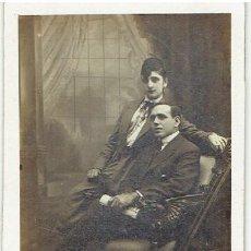 Fotografía antigua: ANTIGUA CARTE DE VISITE J. ALONSO, BARCELONA. Lote 146348146