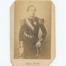 Fotografía antigua: REY DE PORTUGAL, FOTO CDV SIN DATOS REVERSOS. Lote 147547258