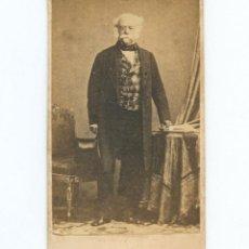 Fotografía antigua: DUQUE DE SALDAÑA. ANDRÉS AVELINO ARTEAGA, FOTO CDV SIN DATOS. Lote 147548006