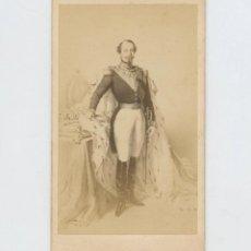 Fotografía antigua: NAPOLEÓN III, FOTO DUSACQ, PARÍS.. Lote 147548870