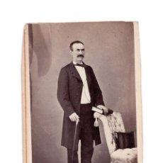 Fotografía antigua: CARTES DE VISITE. ESTUDIO FOTOGRÁFICO. J. MARTI. BARCELONA. Lote 147828186