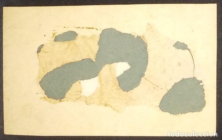 Carte Visite Soldado 9x5,5 cm - 147988566