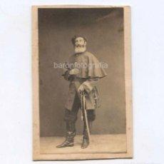 Fotografía antigua: EL CAPITÁN GENERAL DE LAS FILIPINAS, CARLOS MARÍA DE LA TORRE (1809-1879). FOTO: LAURENT, MADRID.. Lote 148049498