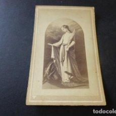 Fotografía antigua: CARTE DE VISITE SIGLO XIX SANTA MARGARITA. Lote 153663750