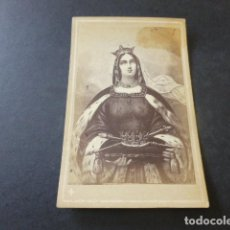 Fotografía antigua: CARTE DE VISITE SIGLO XIX SANTA CLOTILDE. Lote 153663814
