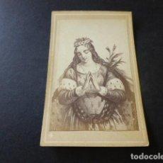 Fotografía antigua: CARTE DE VISITE SIGLO XIX SANTA MARGARITA. Lote 153663914