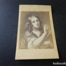Fotografía antigua: CARTE DE VISITE SIGLO XIX SANTA INES. Lote 153663986