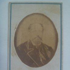 Fotografía antigua: CDV DE SEÑOR DEL SIGLO XIX. DE PICCA - GROOM , VALLADOLID. Lote 154370118