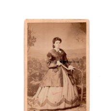 Fotografía antigua: CARTES DE VISITE. ESTUDIO FOTOGRÁFICO. R. BUCH Y J. RODRIGUEZ, VIGO. Lote 154867582