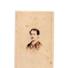 Fotografía antigua - CARTES DE VISITE. ESTUDIO FOTOGRÁFICO. H. MONTALVO. PINTOR Y MINIATURISTA FOTÓGRAFO REY - 154868486