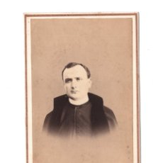 Fotografía antigua: CAPELLÁN POR IDENTIFICAR, FOTO: N. NOBAS, PALMA DE MALLORCA. CDV. Lote 154967822