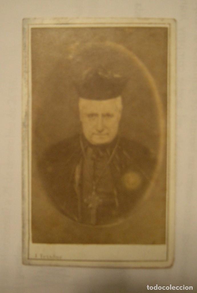 CARTA DE VISITA JOSE TEXIDOR DE BARCELONA (Fotografía Antigua - Cartes de Visite)