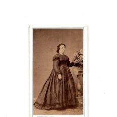 Fotografía antigua: CARTES DE VISITE. ESTUDIO FOTOGRÁFICO. JUAN HORTELANO. VALLADOLID. Lote 155340042
