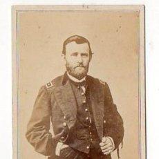 Fotografía antigua: MATHEW BRADY. GENERAL U. S. GRANT. CDV ORIGINAL. Lote 155816142