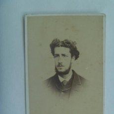 Fotografía antigua - CDV DE SEÑOR DEL SIGLO XIX . DE JUAN MARTÍ , BARCELONA - 156760722