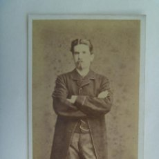 Fotografía antigua - CDV DE SEÑOR DEL SIGLO XIX . DE JUAN MARTÍ , BARCELONA - 156904746