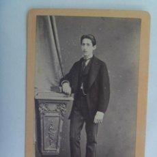 Fotografía antigua - CDV DE SEÑOR DEL SIGLO XIX . DE JUAN MARTÍ , BARCELONA - 156915330
