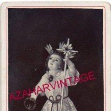 Fotografía antigua: SEMANA SANTA SEVILLA, 1898, CDV RECUERDO HERMANDAD DE PASION, FESTIVIDAD DULCE NOMBRE,65X105MM. Lote 157268678
