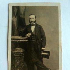 Fotografía antigua: FOTOGRAFÍA, CARTA DE VISITA, L.V. RICHARDSON. LIMA, S. XIX. Lote 159239518