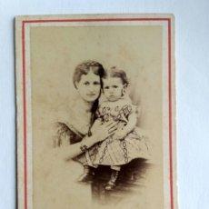 Fotografía antigua: FOTOGRAFÍA, CARTA DE VISITA. COURRET HERMANOS, LIMA, S. XIX.. Lote 159239890