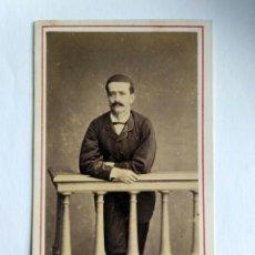 Fotografía antigua: FOTOGRAFÍA. CARTA DE VISITA. COURRET HERMANOS. LIMA, S. XIX.. Lote 159242121