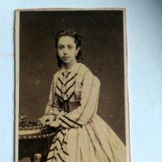 Fotografía antigua: FOTOGRAFÍA, CARTA DE VISITA. COURRET HERMANOS. LIMA, S. XIX.. Lote 159242466