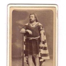 Fotografía antigua: ACTOR O CANTANTE DE ÓPERA, FOTO CHARLES, BORDEAUX. CDV. Lote 159256934
