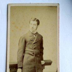 Fotografía antigua: FOTOGRAFÍA, CARTA DE VISITA. CHARLES WELLS, LONDON S. XIX.. Lote 159339540