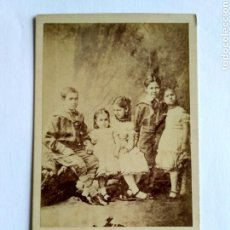 Fotografía antigua: FOTOGRAFÍA, CARTA DE VISITA. W. E. DEBENHAM, LONDON S. XIX.. Lote 159340384