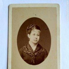 Fotografía antigua - Fotografía, carta de visita. P. Frois. Biarritz, s. XIX. - 159342710
