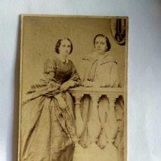Fotografía antigua: FOTOGRAFÍA, CARTA DE VISITA, AMALIA PARDO DE CELA. LIMA 1861.GALICIA. Lote 159565190