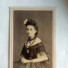 Fotografía antigua: FOTOGRAFÍA, CARTA DE VISITA. COURRET HERMANOS. LIMA, 1865.. Lote 175832925