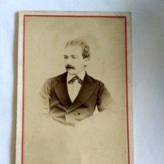 Fotografía antigua: FOTOGRAFÍA, CARTA DE VISITA. E. GARREAUD Y CIA. SANTIAGO, CHILE, S. XIX.. Lote 159671100
