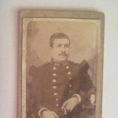 Fotografía antigua - CDV DE UN MILITAR DE FRANCIA CON CHARRETERAS, ETC , SIGLO XIX . DE J. B. DUPOUY, BAYONNE - 160035062