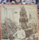 Fotografía antigua: FOTOGRAFIA DE CABALLERO EN JARDIN .NARCISO LA HABANA. Lote 161321466