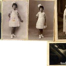 Fotografia antica: ALICANTE TORREVIEJA CONJUNTO 5 FOTOS FOTOGRAFO DARBLADE TAM TARJETA POSTAL . Lote 162031418