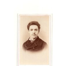 Fotografía antigua: CARTES DE VISITE. ESTUDIO FOTOGRÁFICO. M. DE HERBET. MADRID. Lote 165717234