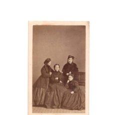 Fotografía antigua: CARTES DE VISITE. ESTUDIO FOTOGRÁFICO.E. JULIÁ. MADRID. Lote 165718166