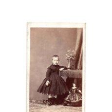 Fotografía antigua: CARTES DE VISITE. ESTUDIO FOTOGRÁFICO. M. DE HERBERT. MADRID.. Lote 165725026