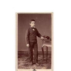 Fotografía antigua: CARTES DE VISITE. ESTUDIO FOTOGRÁFICO. NAPOLEON. BARCELONA.. Lote 165967282
