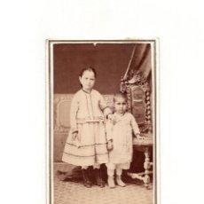 Fotografía antigua: CARTES DE VISITE. ESTUDIO FOTOGRÁFICO. FRANCISCO AMER. PALMA DE MALLORCA.. Lote 165997374